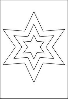 Gro E Star templates Christmas star template Presentation star with template Christmas star The Effective Pictures We Offer You About Felt Christmas Ornaments, Christmas Star, Christmas Crafts For Kids, Holiday Crafts, Star Coloring Pages, Free Printable Coloring Pages, Coloring Pages For Kids, Applique Patterns, Craft Patterns