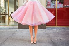 pink tulle skirt - Google Search