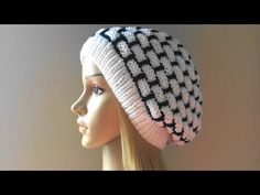 How To Knit A Wall Brick Hat, Lilu's Knitting Corner Video # 24 - YouTube