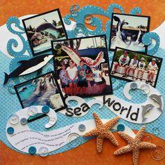 SeaWorld - Scrapbook.com