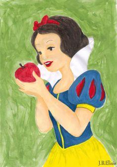 Snow White by gaarasdarkangeljazz.deviantart.com on @deviantART