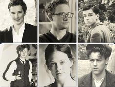 Eeeeh! Young Sherlock cast! Oh, Lara was gorgeous even then. ♥ Benny looks adorable, Martin looks like a total nerd, Andrew looks like he should have been in a movie even then, Mark looks confused and startled, and Rupert looks like a punk kid. <3!!