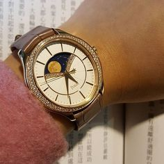Time is a treasure. Wear Piaget.