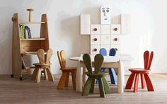 Decofilia Blog   Mesas de juego para la decoración de habitaciones infantiles