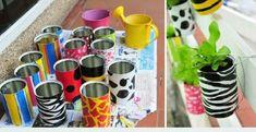 614204 Jardim com latas recicláveis Dicas 0001 Jardim com latas recicláveis: Dicas