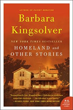 Homeland and Other Stories by Barbara Kingsolver.  READ 1996 - RATING 4. I am not big on short stories but I liked this book.