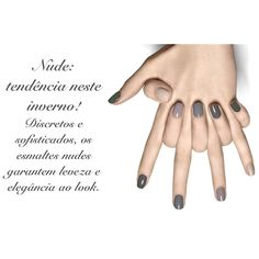 Use e abuse dos esmaltes nudes!