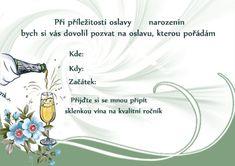 pozvanky_narozeniny Advent, Design, Haha