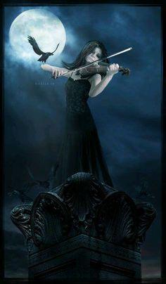 Iconic elements. Gothic fantasy