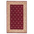 Windsor Burgundy (Red) 1 ft. 9 in. x 2 ft. 9 in. Accent Rug
