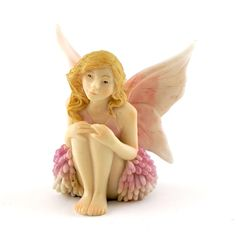 Fairy Garden Miniature Reflecting Fairy - My Fairy Gardens