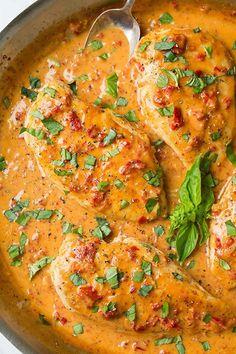 Italian Pasta Recipes, Easy Pasta Recipes, Chicken Recipes, Great Recipes, Cooking Recipes, Healthy Recipes, Chicken Thigh Recipes Oven, Dinner Recipes, Weight Watchers Menu