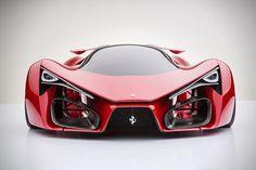 Ferrari Supercar Concept by Adriano Raeli. Italian designer Adriano Raeli reveals the unofficial successor to the Ferrari LaFerrari Ferrari F80, Pink Ferrari, Ferrari 2017, Maserati, Pink Bmw, Ferrari Auto, Supercars, Automobile, Bmw Autos