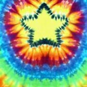 """An evening of tie-dying shirts or other articles of clothing can be a fun way to spend time with friends and family. Making simple swirl patterns is easy and can be done without any special folding, but the star or """"Mandala"""" pattern requires a series of specific folds to pull off correctly."""