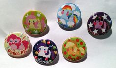 My Little Pony Buttons by PauAndLoma.deviantart.com on @DeviantArt
