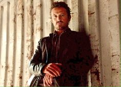 Bass Monroe looking......suave.  David Lyons