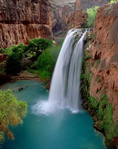 Havasupi Falls, Grand Canyon, Arizona