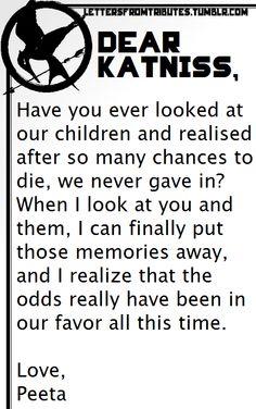 omg this is so sweet peeta to katniss kids hunger games