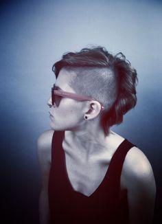 Shaved#undercut#punk