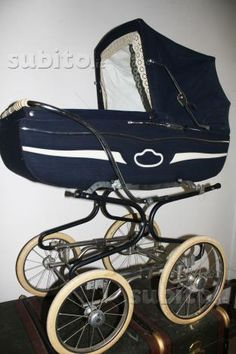 Pram Stroller, Baby Strollers, Vintage Pram, Prams And Pushchairs, Buggy, Baby Carriage, Vintage Italian, Car Seats, Retro