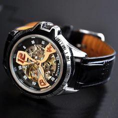 Stan vintage watches — Mens Sport Watch Steampunk Automatic (WAT0124)