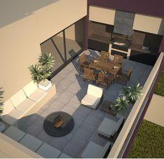 Roof top / roof deck / roof garden / terraza