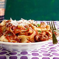 Sausage Ragu with Pappardelle   Rachael Ray