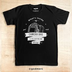 Delighting Me Always Black dari tees.co.id oleh Godmode Store