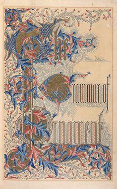 Owen Jones - The Grammar of Ornament - 1856