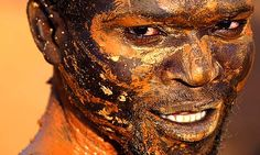 gold miner| ... people still recovering from 15 years of civil war. Photograph: Goran