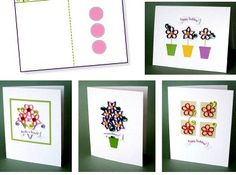 Quilled Card Backgrounds with Envelope | Flickr - Photo Sharing!