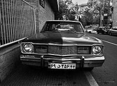 Dodge Dart. Elahieh District, Tehran () Tags: street old bw white black classic car vintage persian iran general north sigma plate retro motors number american 70s vehicle tehran dp1 fereshteh elahieh automotivephotography