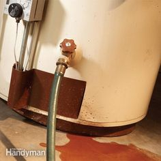 Water Heater Maintenance: Extend Your Hot Water Heater Lifespan - Water Heater Installation - Electric Heat Pump, Water Heater Installation, Galvanized Steel Pipe, Water Faucet, Diy Home Repair, Plumbing, Water Heaters, Pvc Projects, House Projects
