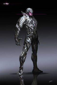 Ultron concept art by Alexander Lozano