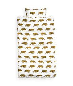 tiger print duvet cover bedding