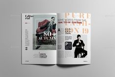 Buy Fashion Magazine by on GraphicRiver. Fashion Magazine Design Layout Magazine Layout Template offers your studio with a professional presentation by just . Layout Template, Templates, Catalogue Layout, Magazine Layout Design, Typography Layout, Catalog Design, Print Magazine, Magazine Template, Page Layout