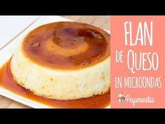 Flan de queso en microondas - PequeRecetas