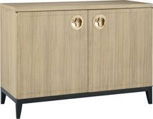 No. 9173 ARCA CHEST  The Arca Chest recalls the rebirth of luxury in the post-war period. The figured Paldao veneers running vertically on t...