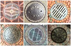 A Somerville resident has made taking photos of covers and drains a new pastime. Cover, Patterns, House, Ideas, Comic, Block Prints, Home, Thoughts, Homes