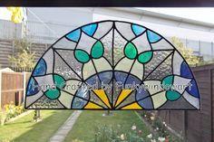 Victorian Semi Circle Window Cling