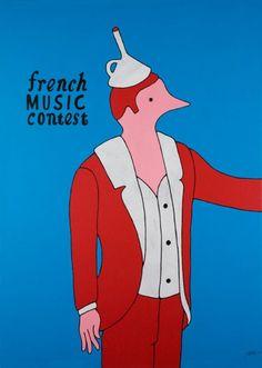 Piet Parra, French Music Contest