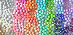 Boutique Craft Supplies: Bubblegum beads at wholesale prices, chunky necklaces kits and grosgrain ribbon Chunky Bead Necklaces, Chunky Beads, Cool Necklaces, Kids Jewelry, Jewelry Making Beads, Beaded Jewelry, Necklace Tutorial, Diamond Solitaire Necklace, Bead Kits