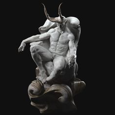 Hello, everyone! Personal work Demons-Classical sculpture I wanted to practice shaping human anatomy in a gesture other than standing upright. I want to present Satan as a good repentant. to be gesture that people are… Zbrush Character, Character Art, Character Design, Character Ideas, Photo Games, Ange Demon, 1 Tattoo, Sculpture Clay, Garden Sculpture