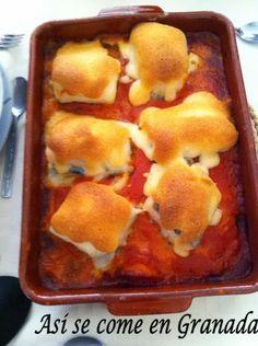 Así se come en Granada.: Bacalao con alioli http://www.pinterest.com/movanlo/recetas-para-tienda/