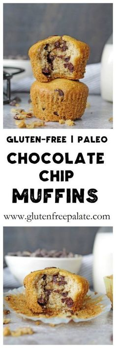 These scrumptious Paleo Chocolate Chip Muffins are simple to make, and ready to devour in less than thirty minutes. A healthy, fresh-baked, tender muffin that's healthy and satisfying.