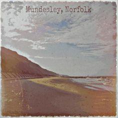 #mundesley #beach #retro #vintified Fine Art Print