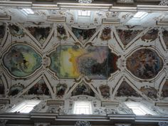 baroque stucco and paintings