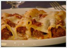 cannelloni Cannelloni Recipes, Baked Pasta Recipes, Carne, Pasta Bake, Weeknight Meals, Pasta Dishes, Macaroni And Cheese, Eat, Cooking