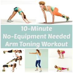 10-Minute, No-Equipment Arm Toning Workout | Health.com