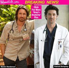'Grey's Anatomy': Martin Henderson Replacing Patrick Dempsey As Series Regular?